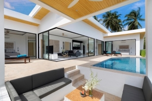 S1759: ELEGANT KOH SAMUI VILLA WITH PANORAMIC VIEWS FOR SALE