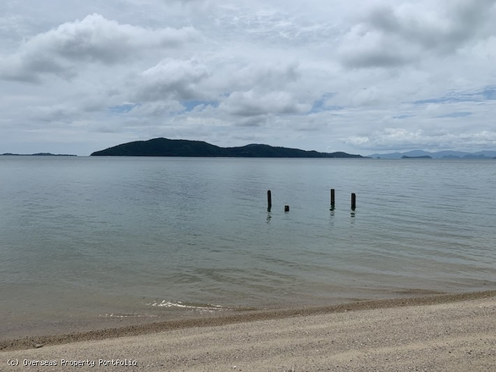 S1772: 13.5 RAI BEACHFRONT KOH SAMUI LAND FOR SALE