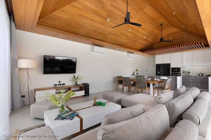 S1780: KOH SAMUI VILLA FOR RENT 400 METERS FROM THE BEACH