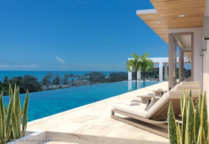 S1782: MODERN SEA VIEW KOH SAMUI TOWNHOUSE FOR SALE