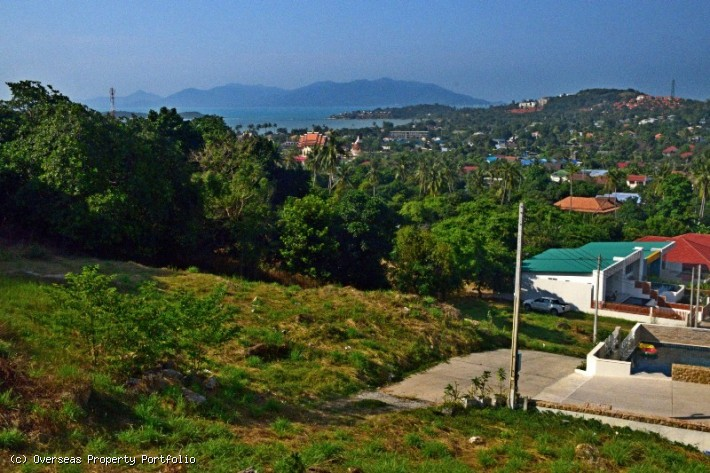 S1785: 2 RAI KOH SAMUI SEA VIEW LAND PLOT FOR SALE