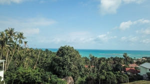 S1787: KOH SAMUI SEA VIEW LAND FOR SALE