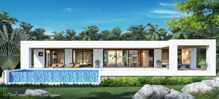 S1806: LUXURY KOH SAMUI VILLA BY THE BEACH FOR SALE