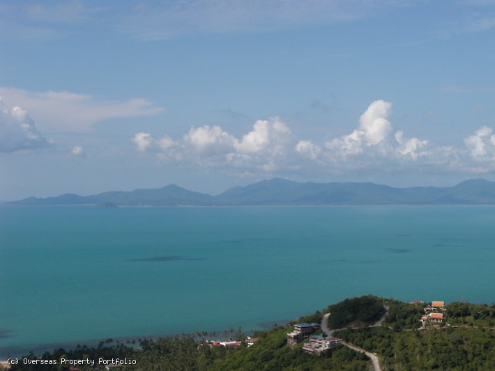 S1815: KOH SAMUI LAND WITH UNOBSTRUCTED VIEWS FOR SALE