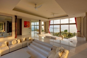 S1833: EXCLUSIVE KOH SAMUI VILLA WITH PANORAMIC VIEWS FOR SALE