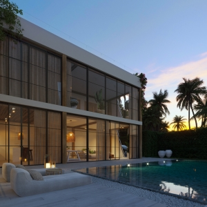 S1836: CONTEMPORARY KOH SAMUI VILLA FOR SALE WITH AMAZING SEA VIEWS