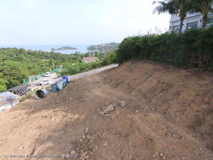 S1842: KOH SAMUI SEA VIEW LAND FOR SALE