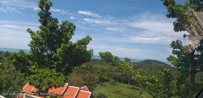S1851: 50 RAI KOH SAMUI LAND WITH 180 DEGREE PANORAMIC VIEWS FOR SALE