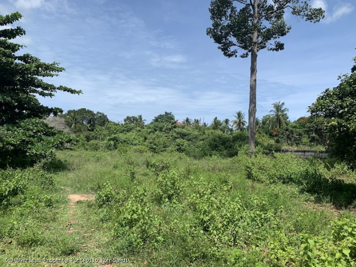 S1853: 2.88 RAI KOH SAMUI LAND FOR SALE
