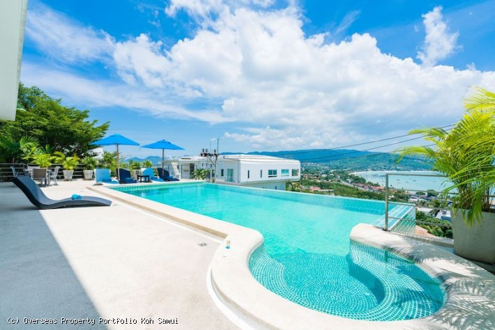 S1857: KOH SAMUI SEA VIEW VILLA FOR SALE