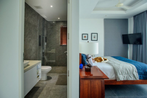 S1859: KOH SAMUI PANORAMIC SEA VIEW VILLA 150 METERS FROM THE BEACH