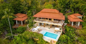 S1884: EXCLUSIVE KOH SAMUI JUNGLE VILLA WITH PANORAMIC SEA VIEWS FOR SALE