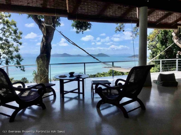 S1886: KOH SAMUI VILLA WITH STUNNING VIEWS FOR SALE