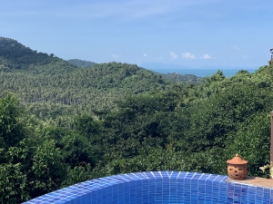 S1888: KOH SAMUI VILLA WITH SEA VIEWS FOR SALE