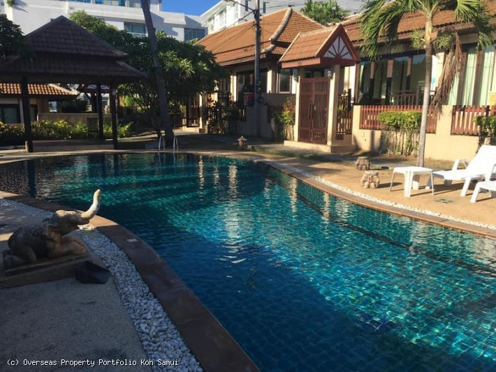 S1891; KOH SAMUI VILLA FOR SALE IN CENTRAL LOCATION