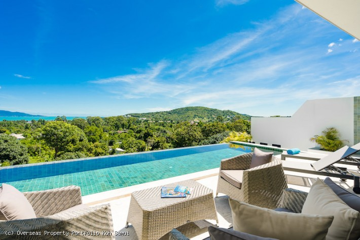 S1892: KOH SAMUI VILLA WITH SEA VIEWS FOR SALE