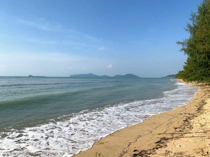 S1899: 4,71 RAI KOH SAMUI BEACHFRONT LAND FOR SALE