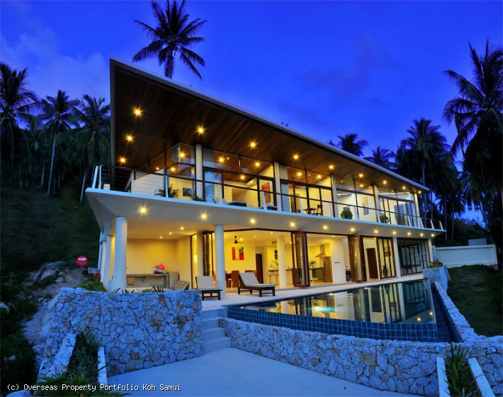 S1918: PERFECT TWIN HIDEAWAY KOH SAMUI VILLA COMPOUND FOR SALE