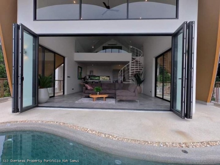 S1925: KOH SAMUI ARCHITECT DESIGNED SEA VIEW VILLAS FOR SALE
