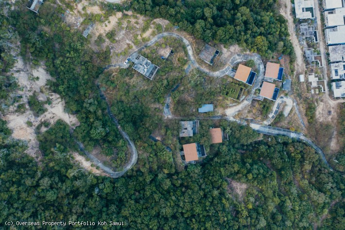 S1929: 14,5 RAI KOH SAMUI LAND WITH SEA VIEWS FOR SALE