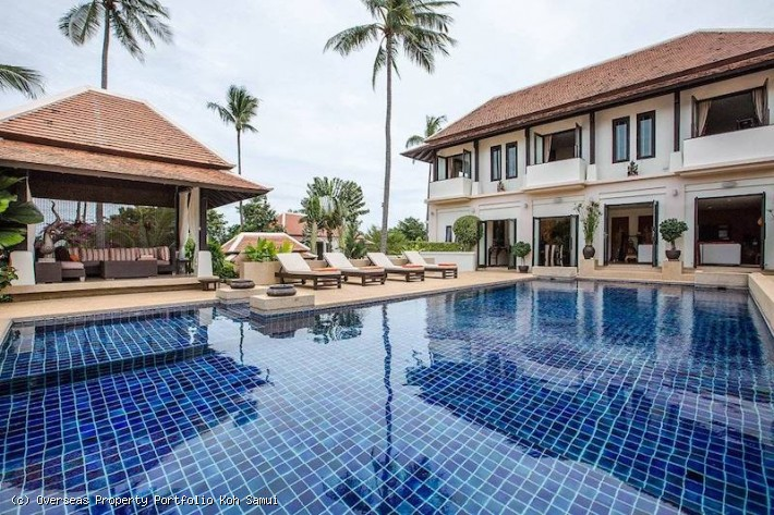 S1934: KOH SAMUI VILLA FOR SALE MOMENTS FROM THE BEACH