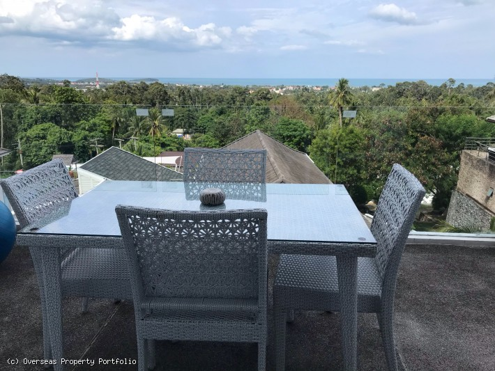 S999: MODERN SEA VIEW KOH SAMUI DUPLEX FOR SALE & RENT
