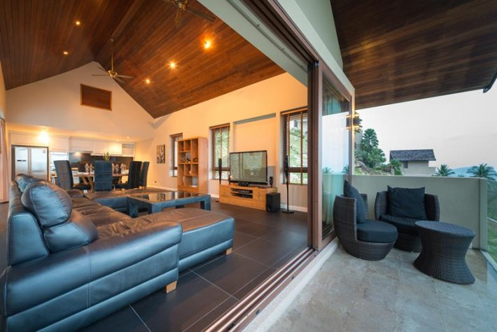 S870: BEAUTIFUL KOH SAMUI VILLA FOR SALE & RENT WITH SEA VIEWS