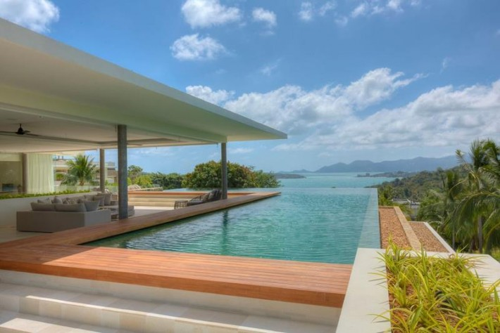 S608: SEA VIEW VILLA IN A LUXURY MANAGED HILLSIDE ESTATE