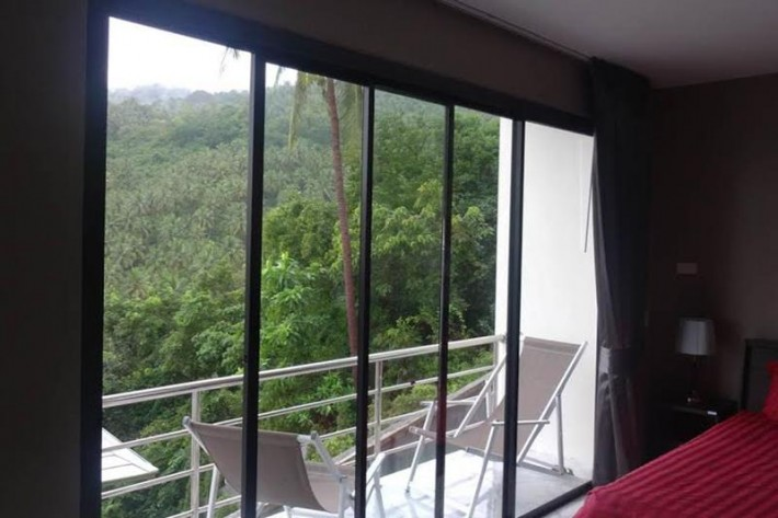 S1010: SEA VIEW KOH SAMUI CONDO FOR RENT IN QUIET AREA