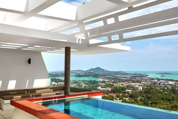 S1482: KOH SAMUI VILLA FOR RENT WITH SPECTACULAR VIEWS