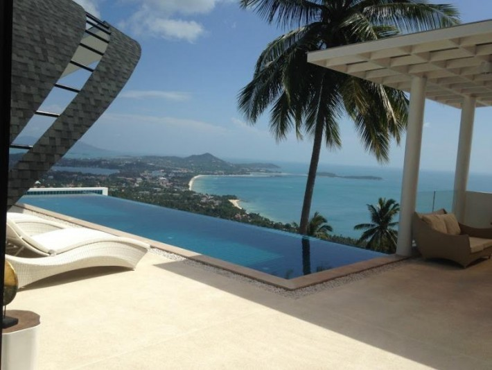 S1265: LUXURY KOH SAMUI VILLA FOR RENT WITH PANORAMIC SEA VIEWS