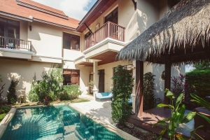 S1263: BALINESE STYLE KOH SAMUI VILLA FOR SALE IN PEACEFUL LOCATION