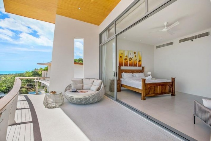 S1245: SEA VIEW KOH SAMUI VILLA & STUDIO FOR SALE
