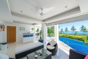 KOH SAMUI PROPERTY - VILLA LIVING ROOM