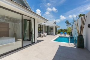 S1246: ELEGANT KOH SAMUI VILLA FOR SALE NEAR BIG BUDDHA