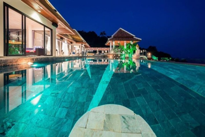 S477: AMAZING SEA VIEW KOH SAMUI VILLA FOR SALE PRIVATE & QUIET LOCATION
