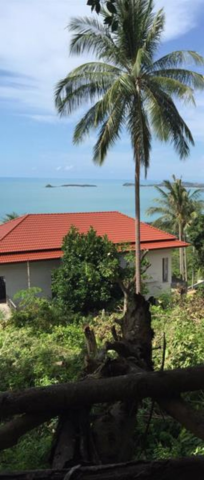 S741: 2 RAI KOH SAMUI LAND PLOT FOR SALE WITH STUNNING SEA VIEWS