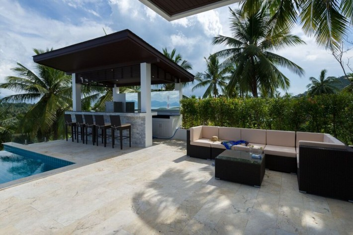 S1057: LUXURY SEA VIEW KOH SAMUI VILLA FOR RENT