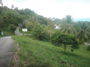 S1049: SEA VIEW KOH SAMUI LAND PLOT FOR SALE IN A MANAGED ESTATE