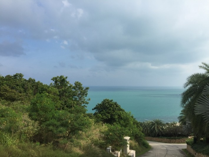 S1073: 10 RAI SEA VIEW KOH SAMUI LAND PLOT FOR SALE WITH 360 VIEWS