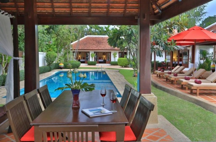 S391: LUXURY BEACHFRONT KOH SAMUI VILLA FOR SALE & RENT