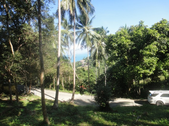 S1043: 1.28 RAI BEAUTIFUL SEA VIEW KOH SAMUI LAND PLOT FOR SALE