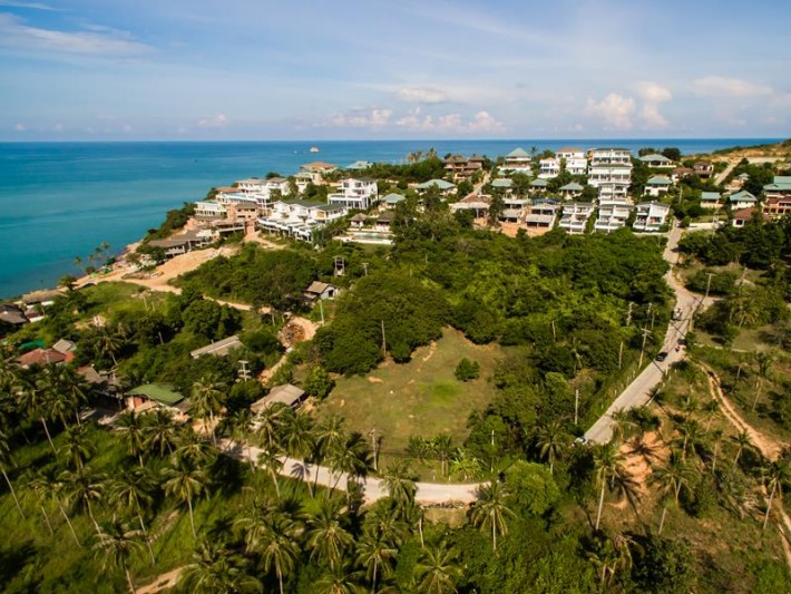 S1439: 1.77 RAI KOH SAMUI LAND PLOT FOR SALE WITH STUNNING SEA VIEWS